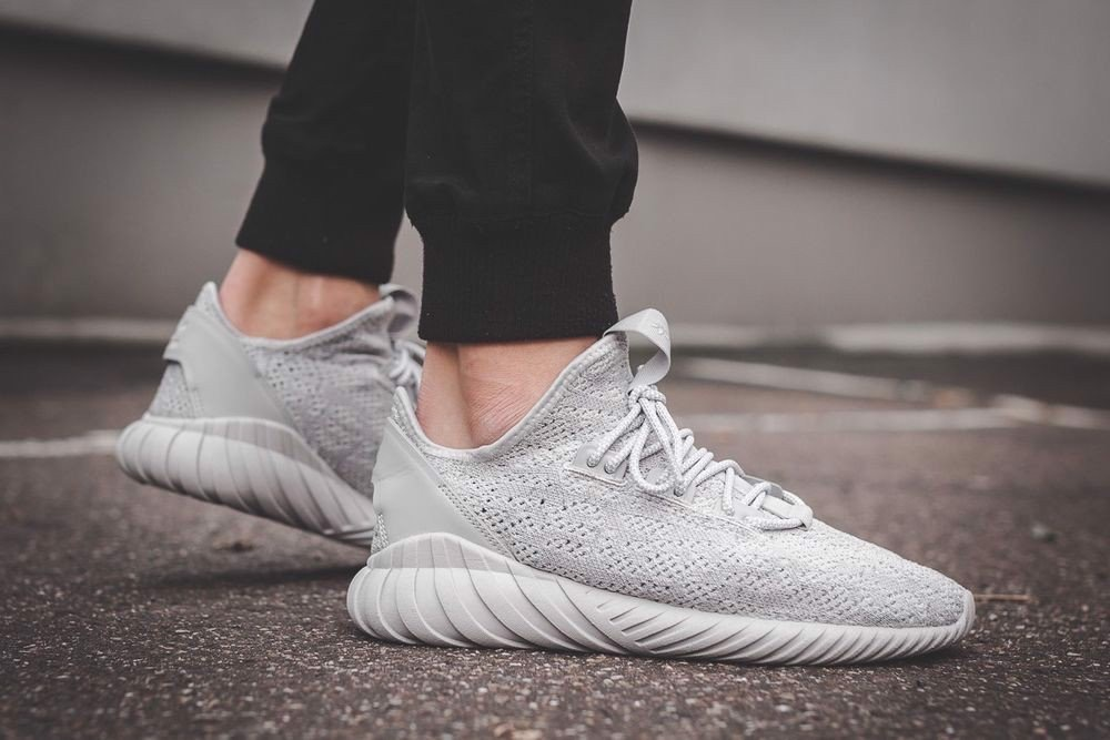 [CG5512] M ADIDAS TUBULAR DOOMSOCK ORIGINALS ALL GREY
