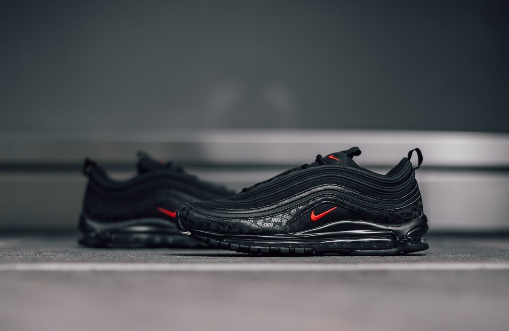 [AR4259-001] M NIKE AIR MAX 97 REFLECTIVE '' ALL BLACK ''