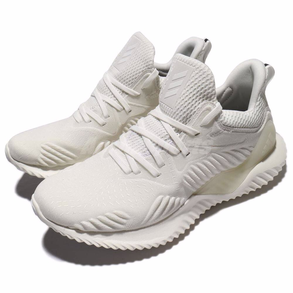 [DB1119] W ADIDAS ALPHABOUNCE BEYOND ALL WHITE