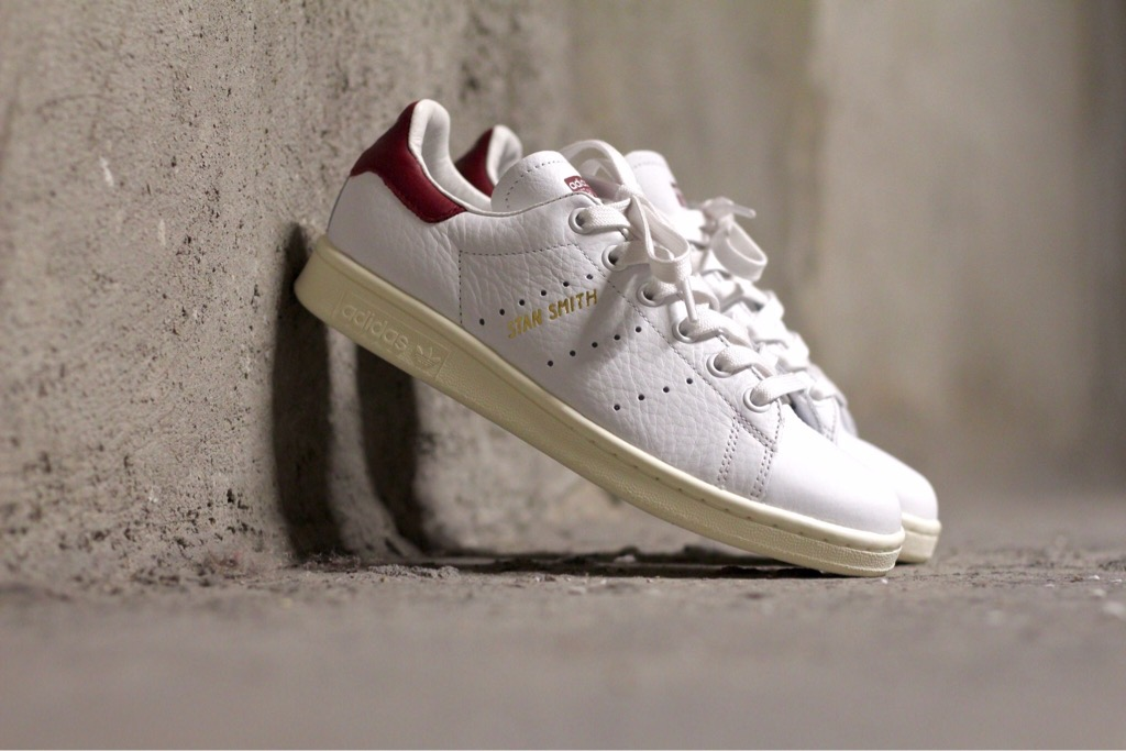 [CQ2195] M ADIDAS STAN SMITH VINTAGE RED