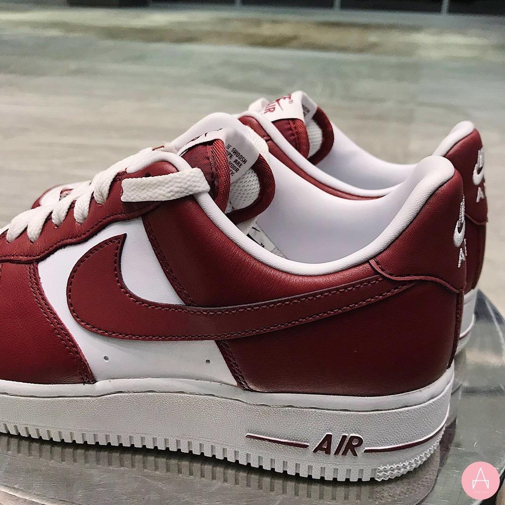 [AQ4134-600] M NIKE AIR FORCE 1 WHITE RED