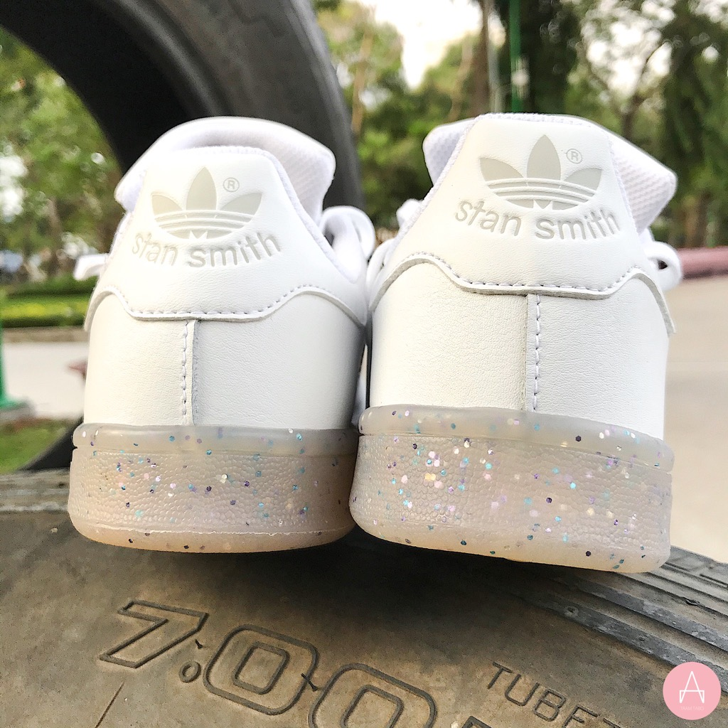 [EE7574] K ADIDAS STAN SMITH PLATING RUBBER SOLER