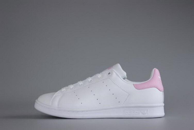 [BA9946] W ADIDAS STAN SMITH PINK WHITE