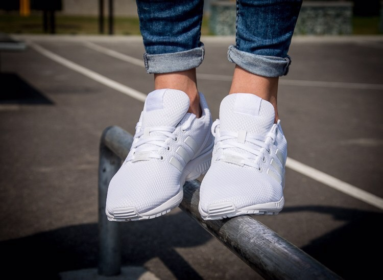 [S81421] K ADIDAS ZX FLUX ALL WHITE