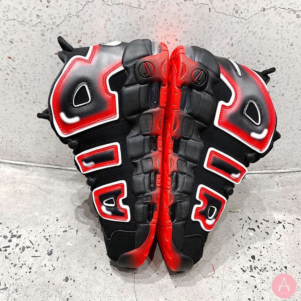 [CJ6129-001] M NIKE AIR MORE UPTEMPO 96 'LASER CRIMSON'