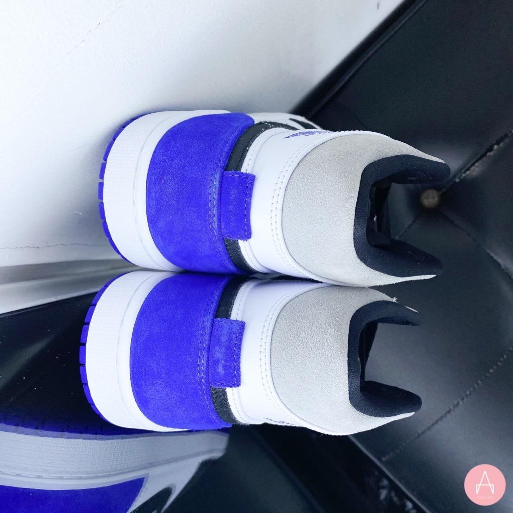 [852542-102] M JORDAN 1 MID SE UNION ROYAL BLACK/WHITE/BLUE