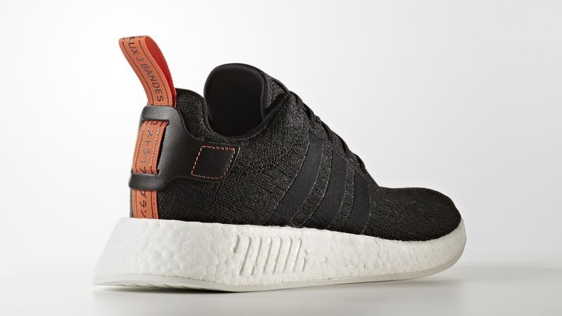 [CG3384] M ADIDAS NMD R2 BLACK ORANGE