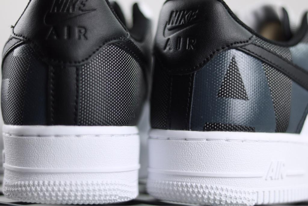 [AV8363-100] M NIKE AIR FORCE 1 PREMIUM WHITE BLACK PATCH