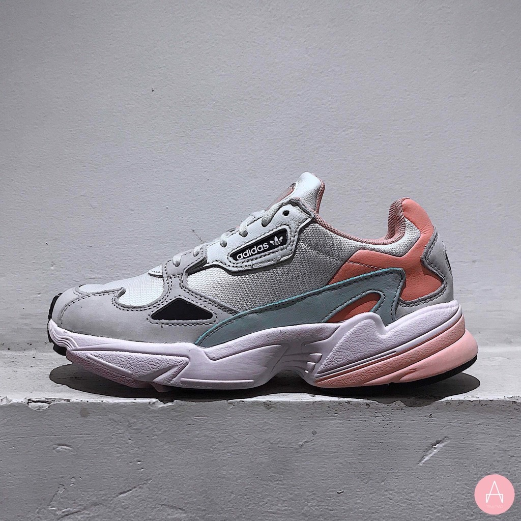 [EE4149] W ADIDAS FALCON WHITE PINK