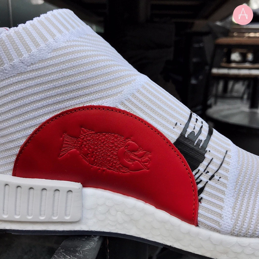[BB9260] M ADIDAS NMD CS1 WHITE RED KOI