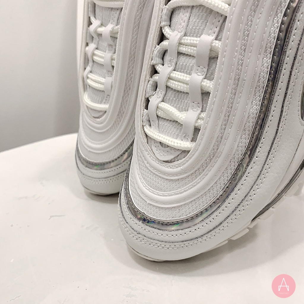 [CJ9706-100] W NIKE AIR MAX 97 WHITE HOLOGRAM