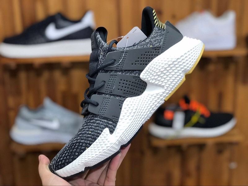[B37073] M ADIDAS PROPHERE BLACK YELLOW