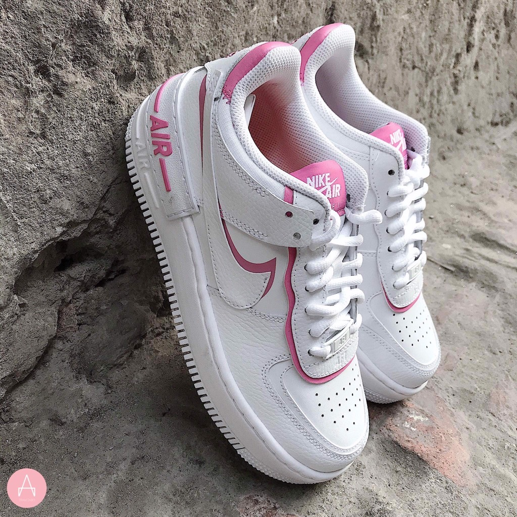 [CI0919-102] W NIKE AIR FORCE 1 SHADOW WHITE PINKY