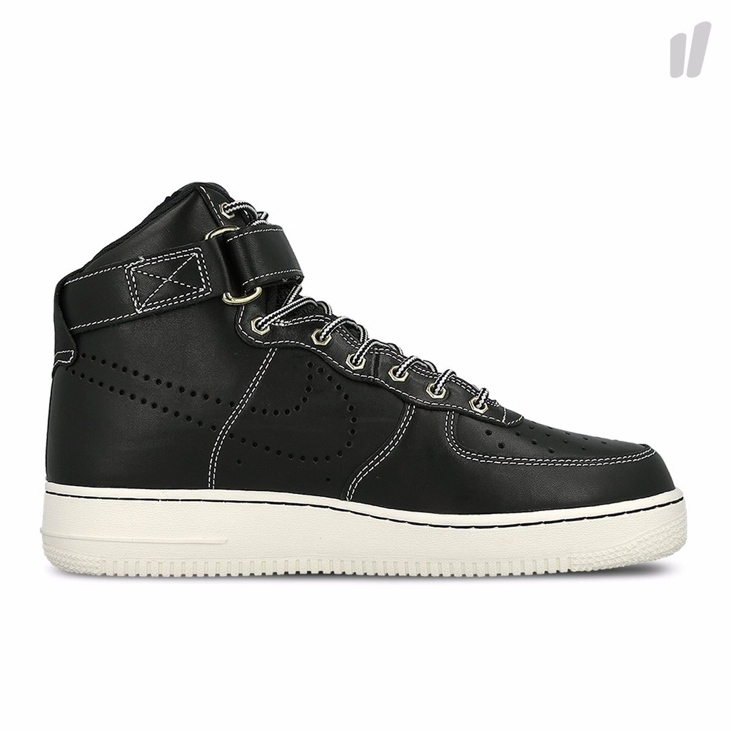 [882096-001] M NIKE AIR FORCE 1 01 LVB BLACK WHITE