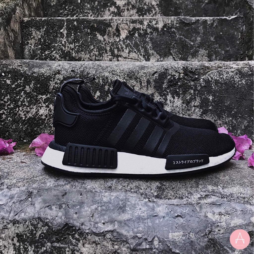 [CG6245] K ADIDAS NMD R1 BLACK WHITE JAPAN
