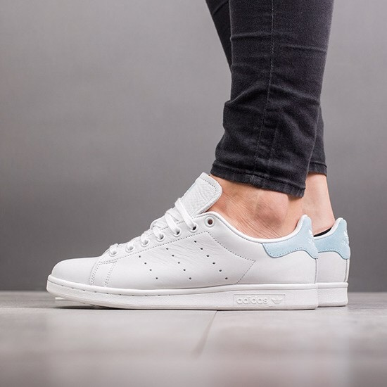 [BZ0390] W ADIDAS STAN SMITH ICY BLUE