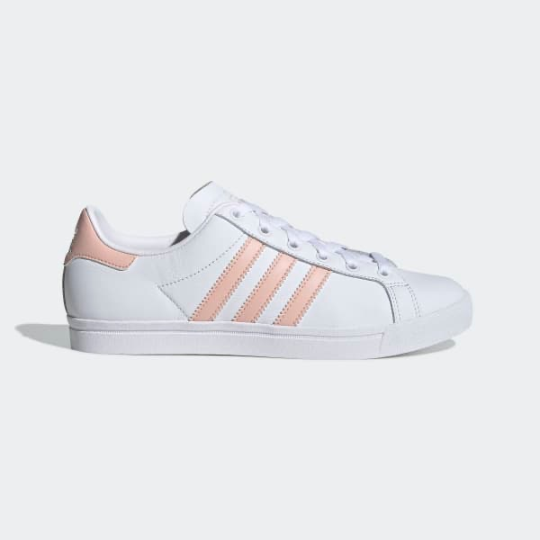 [EE8910] W ADIDAS COAST STAR WHITE PINK