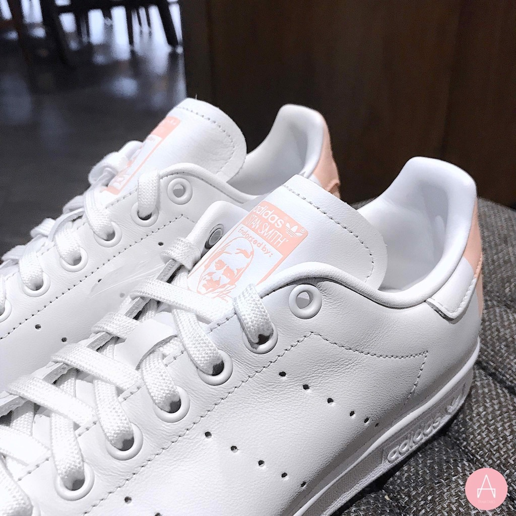 [EG2854] W ADIDAS STAN SMITH WHITE GLOW PINK