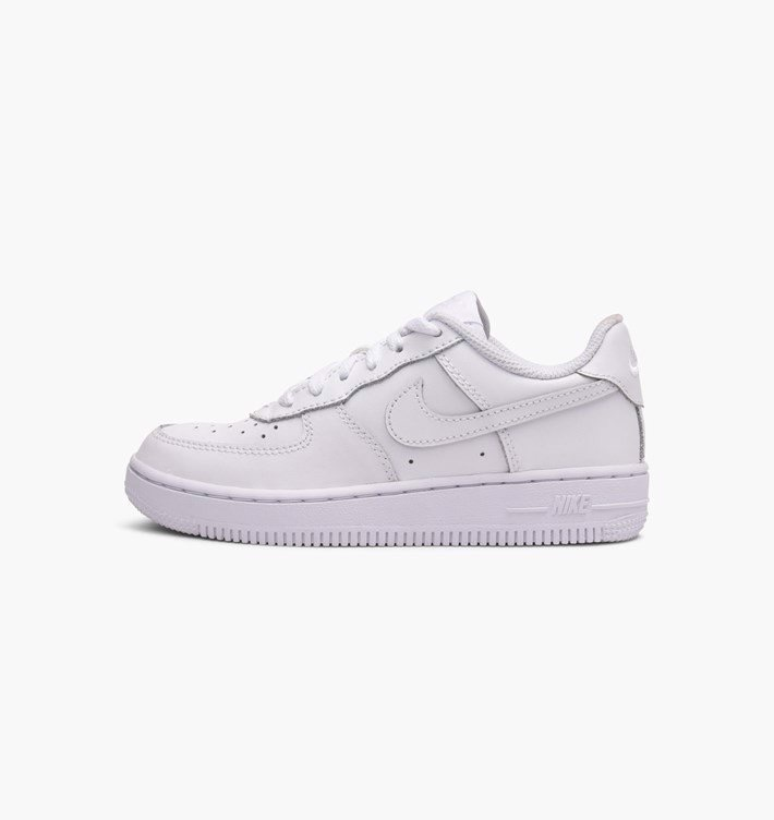 [314193-117] PS NIKE AIR FORCE 1 ALL WHITE