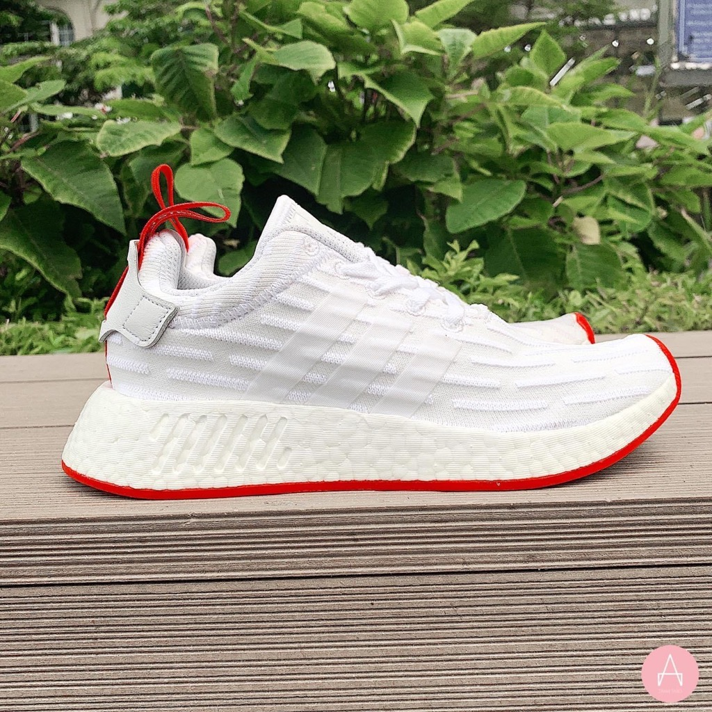 [BA7253] M ADIDAS NMD R2 WHITE RED