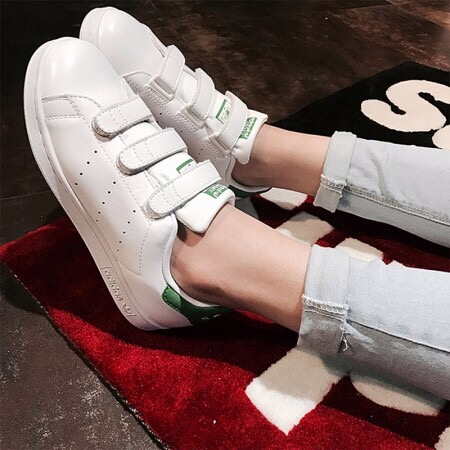 [S82702] K ADIDAS STAN SMITH CF GREEN