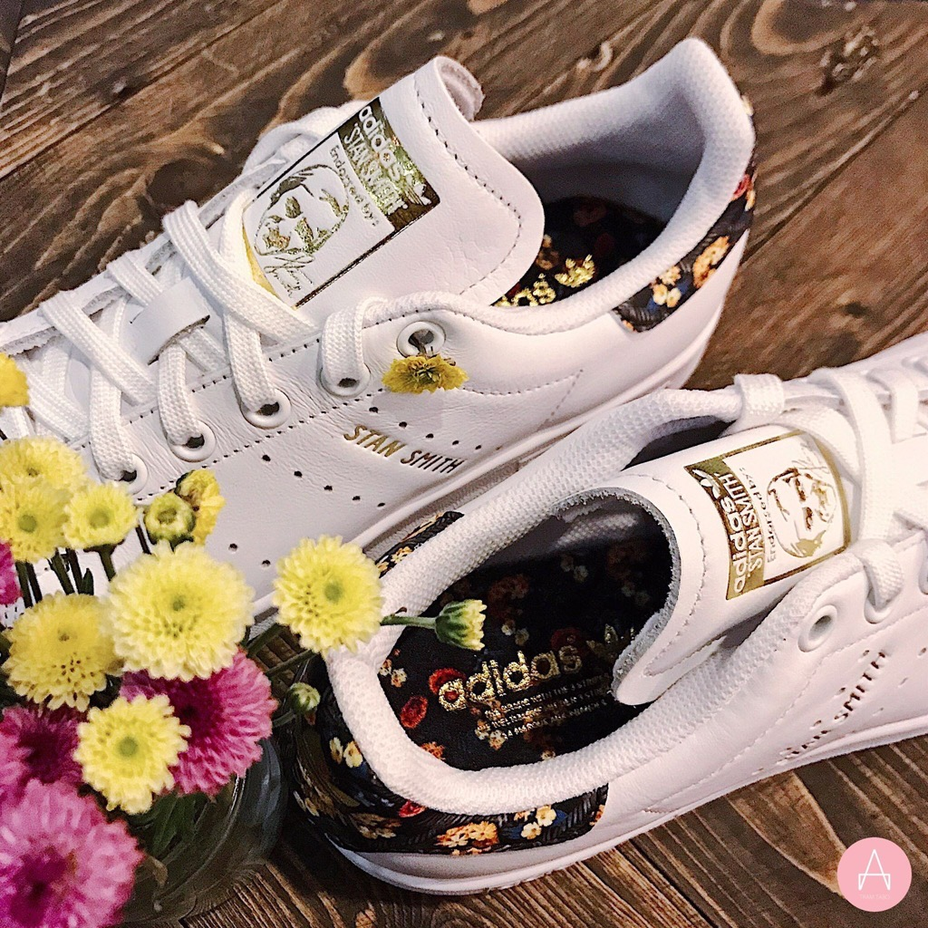[EF1481] W ADIDAS STAN SMITH LIMITED EDITION WHITE FLORAL