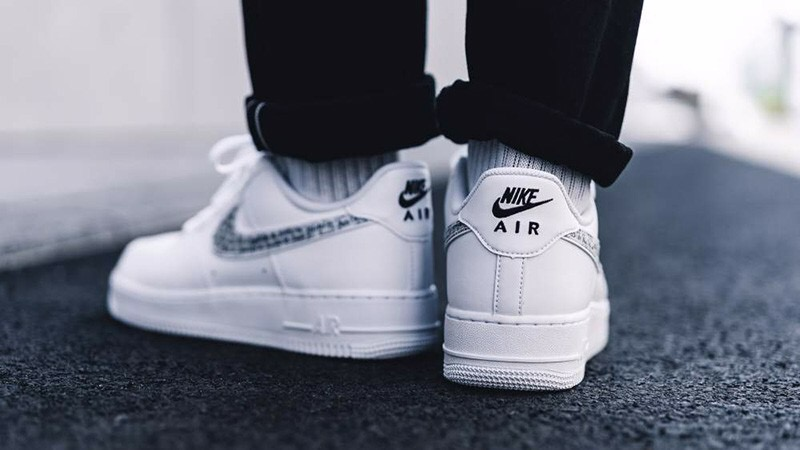[BQ5361-100] M NIKE AIR FORCE 1 JDI WHITE BLACK