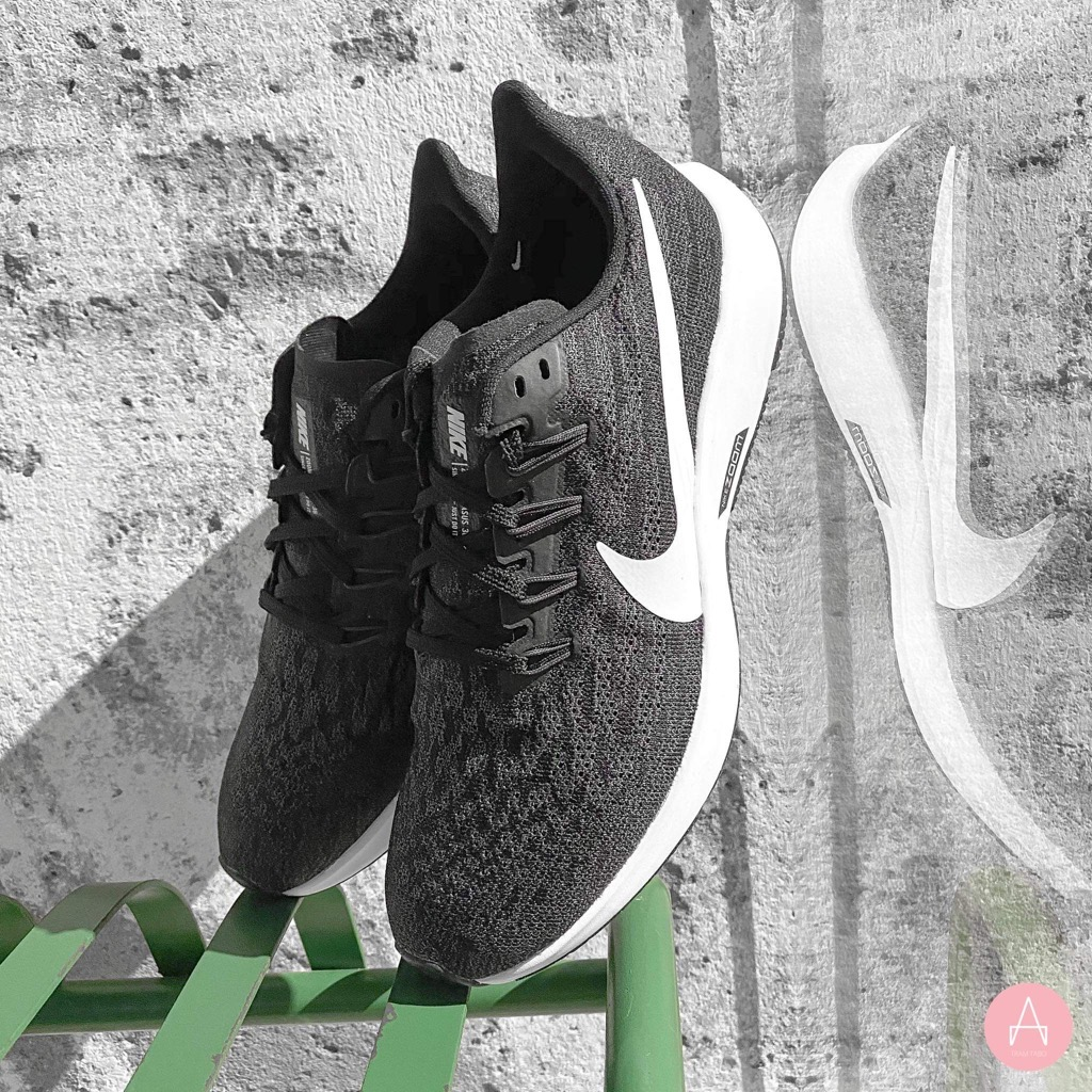 [AQ2203-002] M NIKE AIR ZOOM PEGASUS 36 BLACK/WHITE