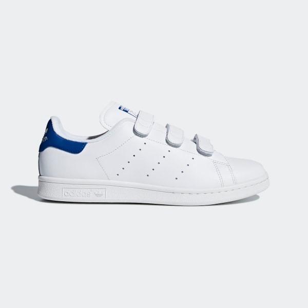 [S80042] M ADIDAS STAN SMITH CF WHITE BLUE