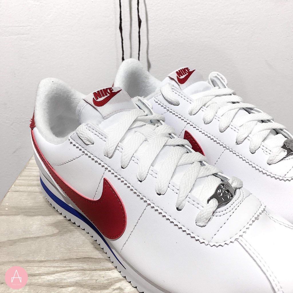 [819719-103] M NIKE CORTEZ BASIC WHITE RED