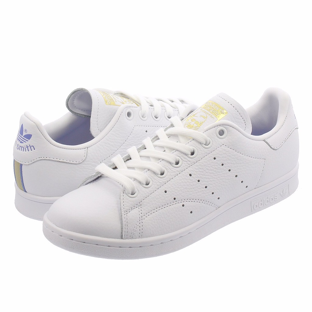 [CG6014] W ADIDAS STAN SMITH VINTAGE WHITE REAL LILAC RAW GOLD