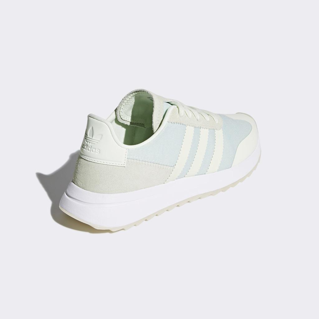 [CQ1971] W ADIDAS FLB RUNNER GREEN WHITE