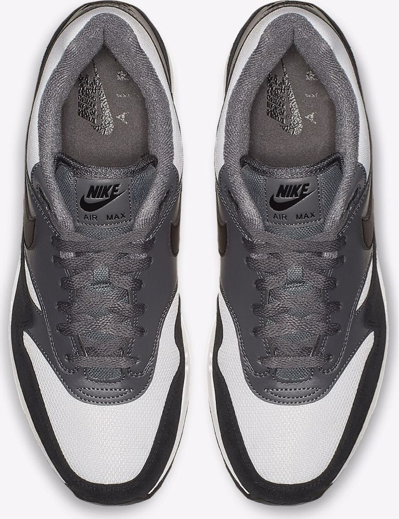 [BQ5075-001] M NIKE AIR MAX 1 GREY BLACK WHITE