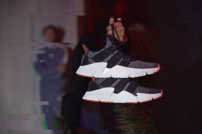 [AC8509] W ADIDAS PROPHERE ORIGINALS BLACK RED WHITE