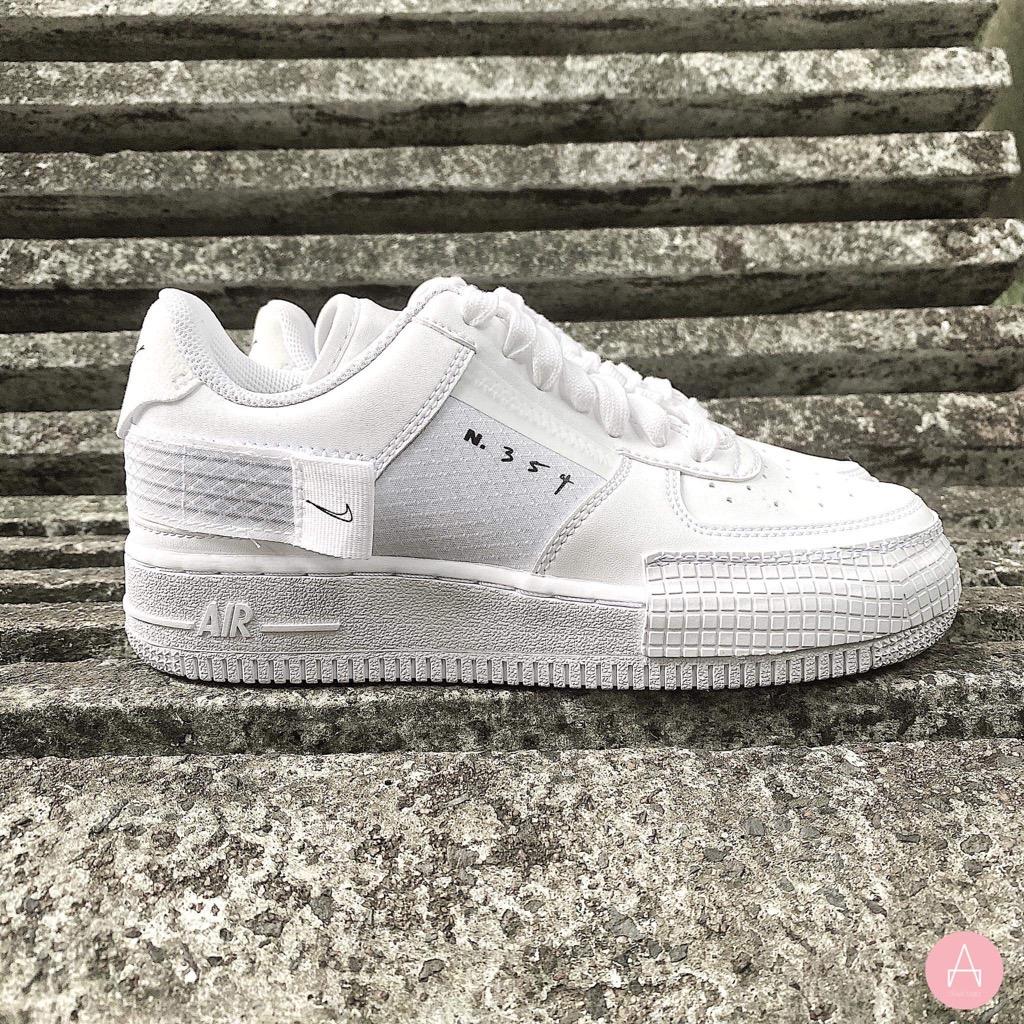 [CT2584-100] W NIKE AIR FORCE 1 TYPE 2 TRIPLE WHITE