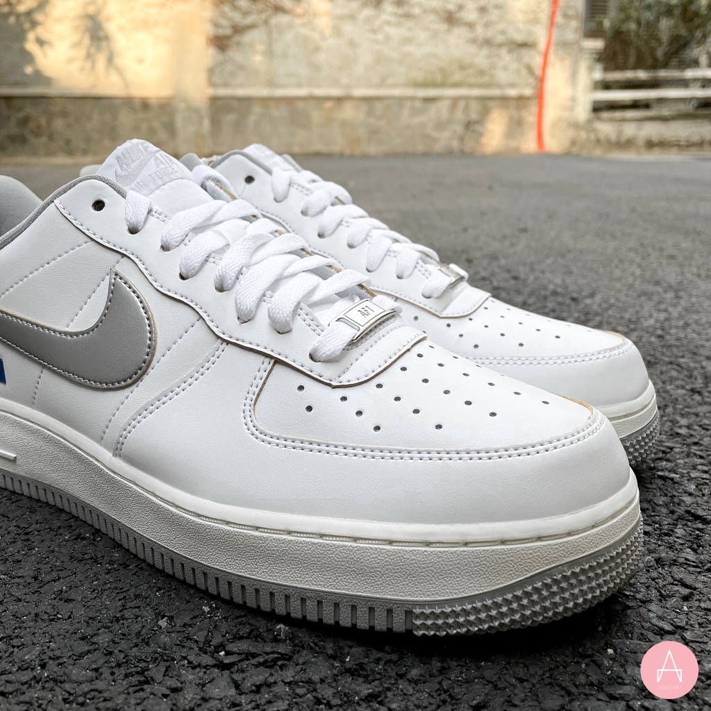 [DC5209-100] M NIKE AIR FORCE 1 '07 LV8 LOW LABEL MAKER WHITE