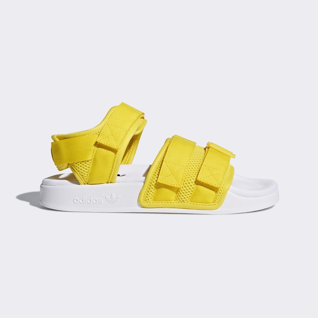 [CQ2673] ADIDAS ADILETTE SANDALS YELLOW