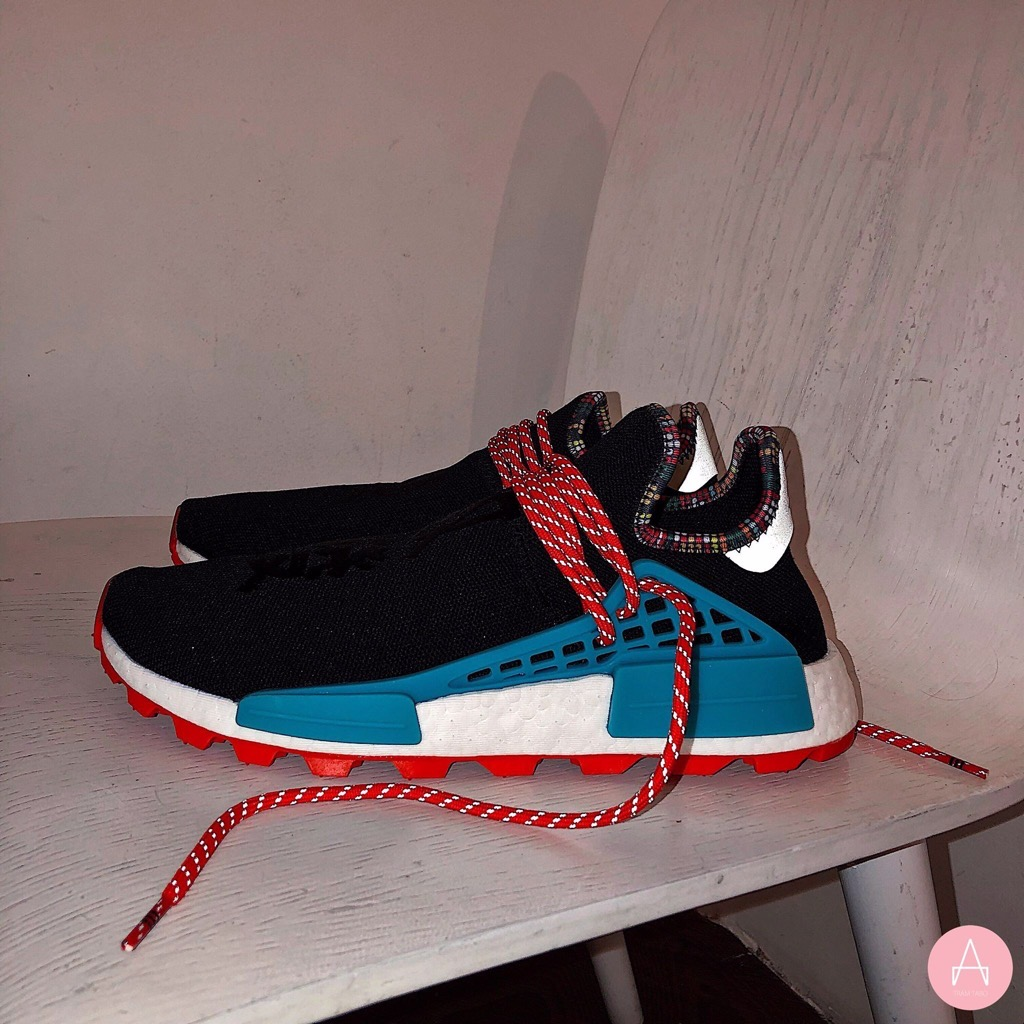 [EE7582] M ADIDAS x PHARRELL HU NMD PW BLACK RED