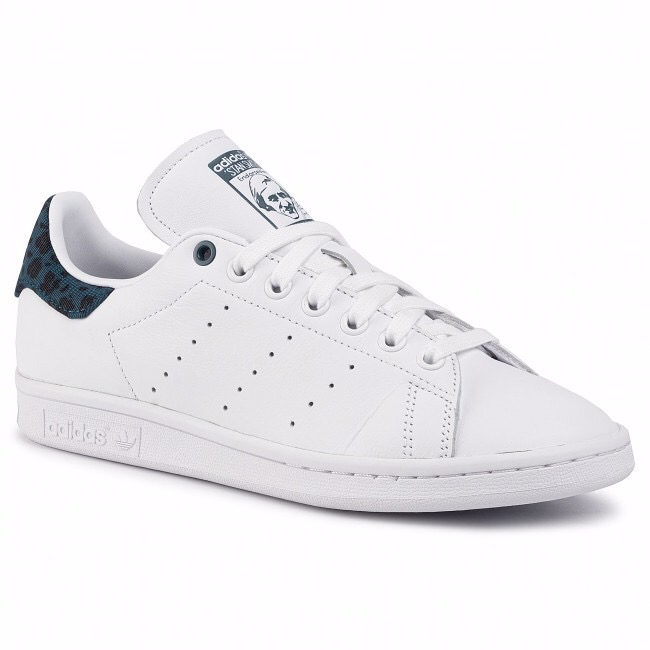 [EE4895] W ADIDAS STAN SMITH WHITE MINERAL BLACK