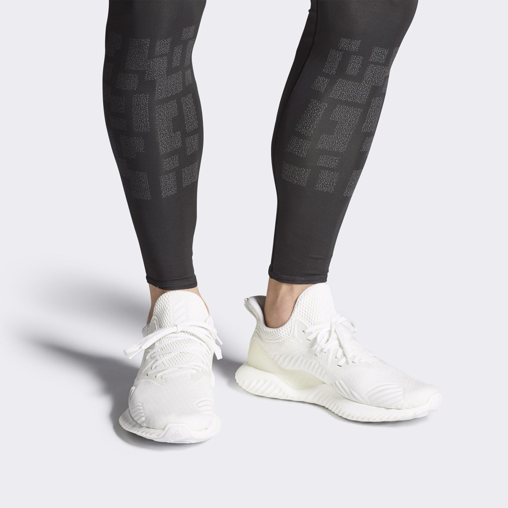 [DB1125] M ADIDAS ALPHABOUNCE BEYOND ALL WHITE