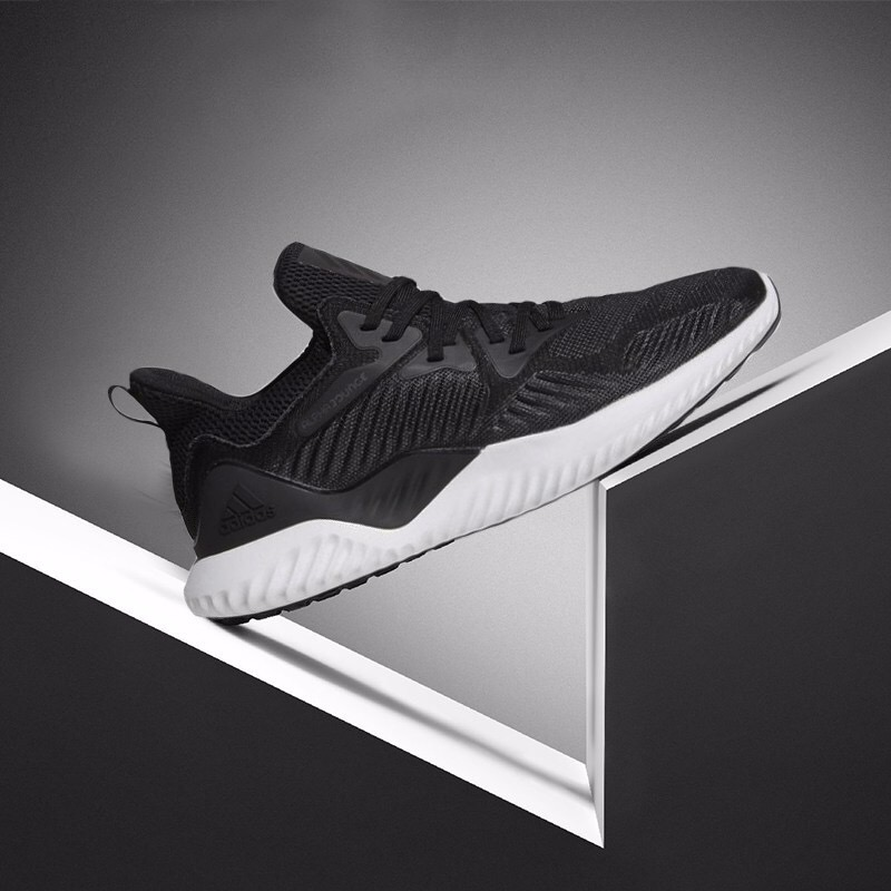 [AC8273] M ADIDAS ALPHABOUNCE BEYOND BLACK WHITE