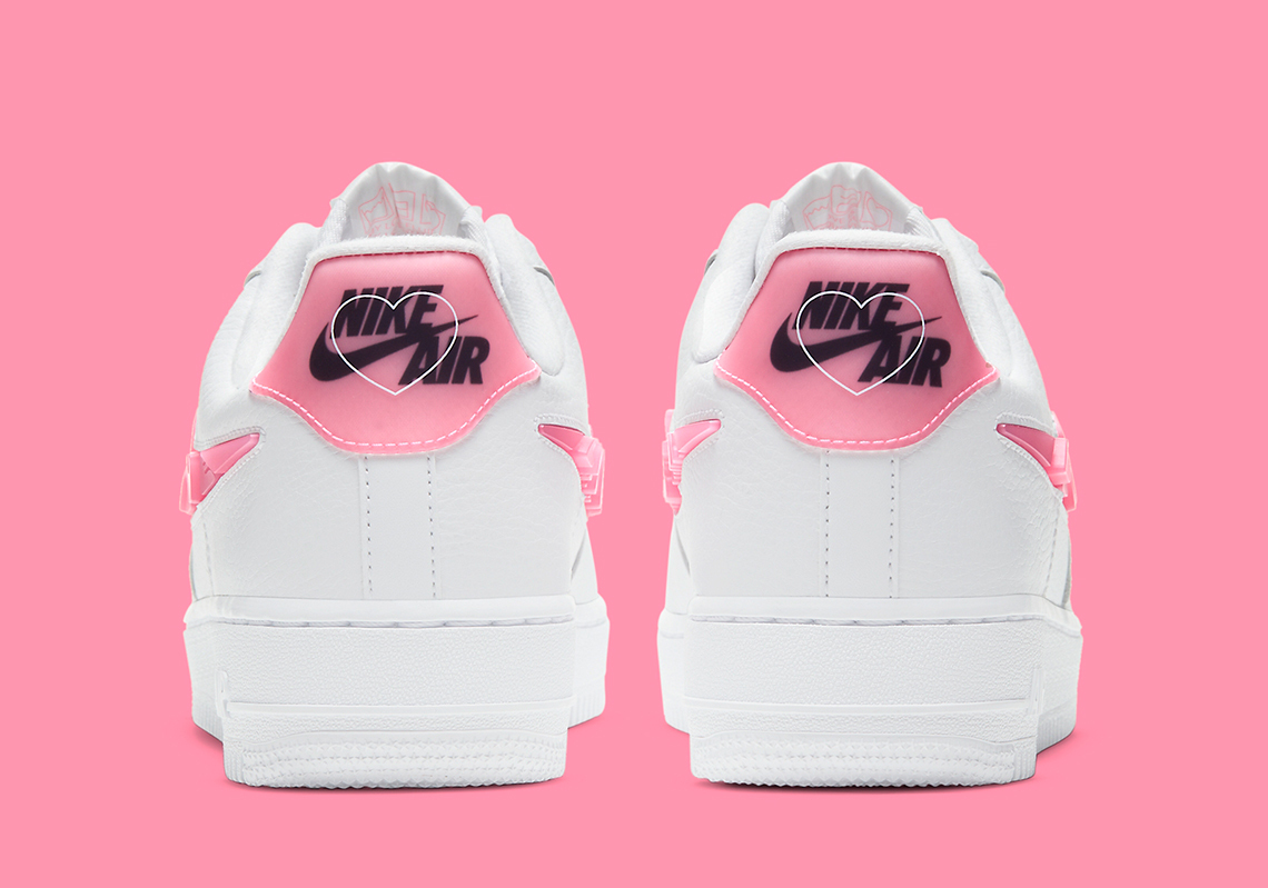 [CV8482-100] W NIKE AIR FORCE 1 LOW WHITE LOVE FOR ALL