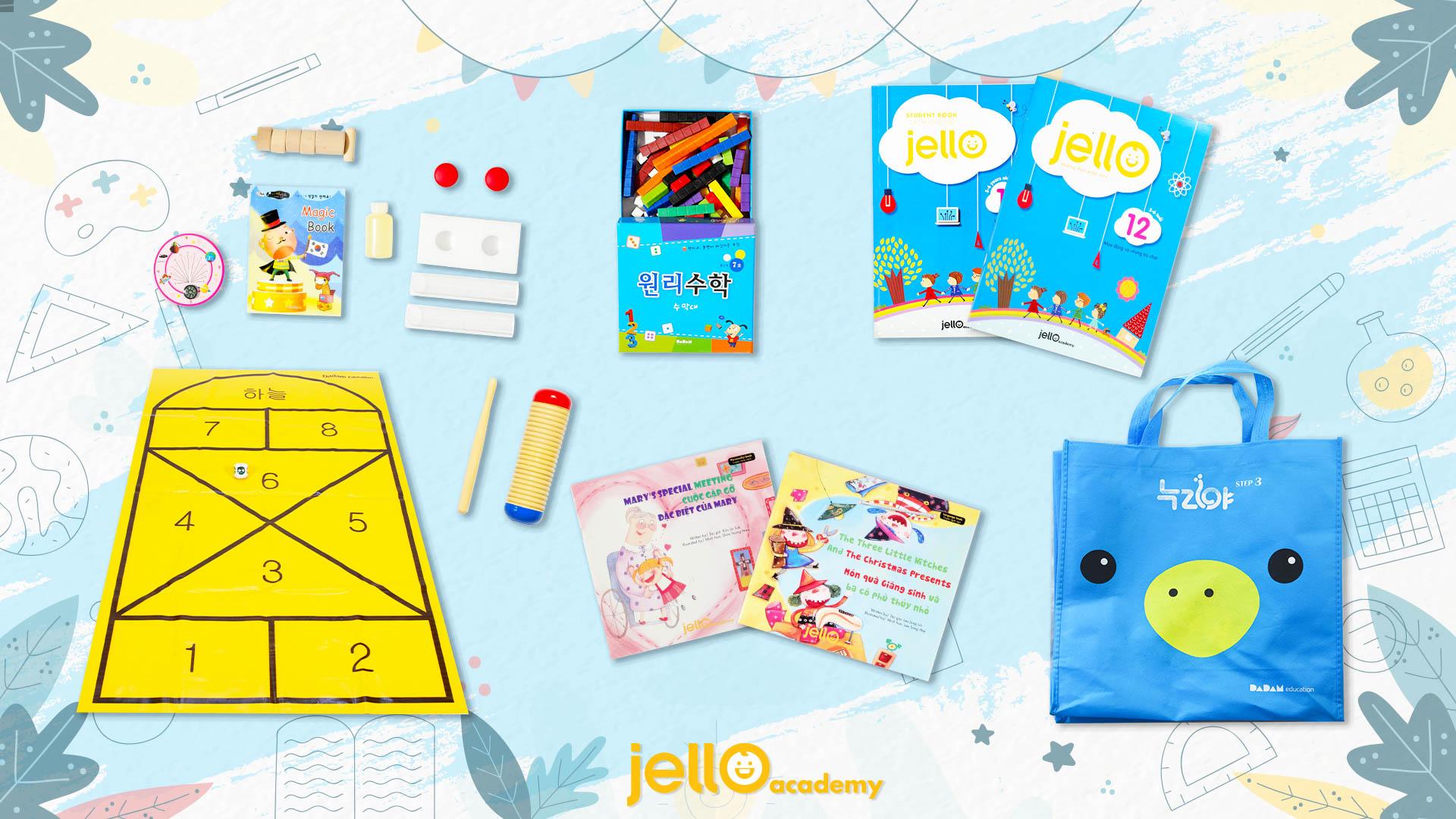 Bộ học cụ Jello - 5 Tuổi - Tháng 12