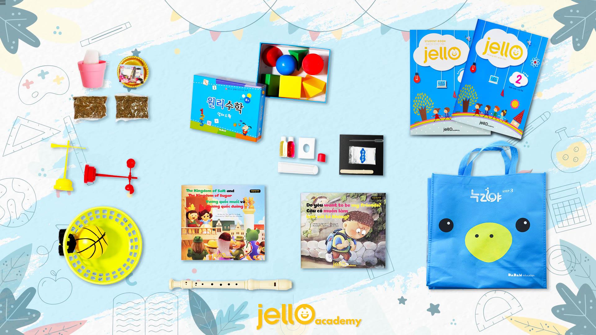 Bộ học cụ Jello - 5 Tuổi - Tháng 02