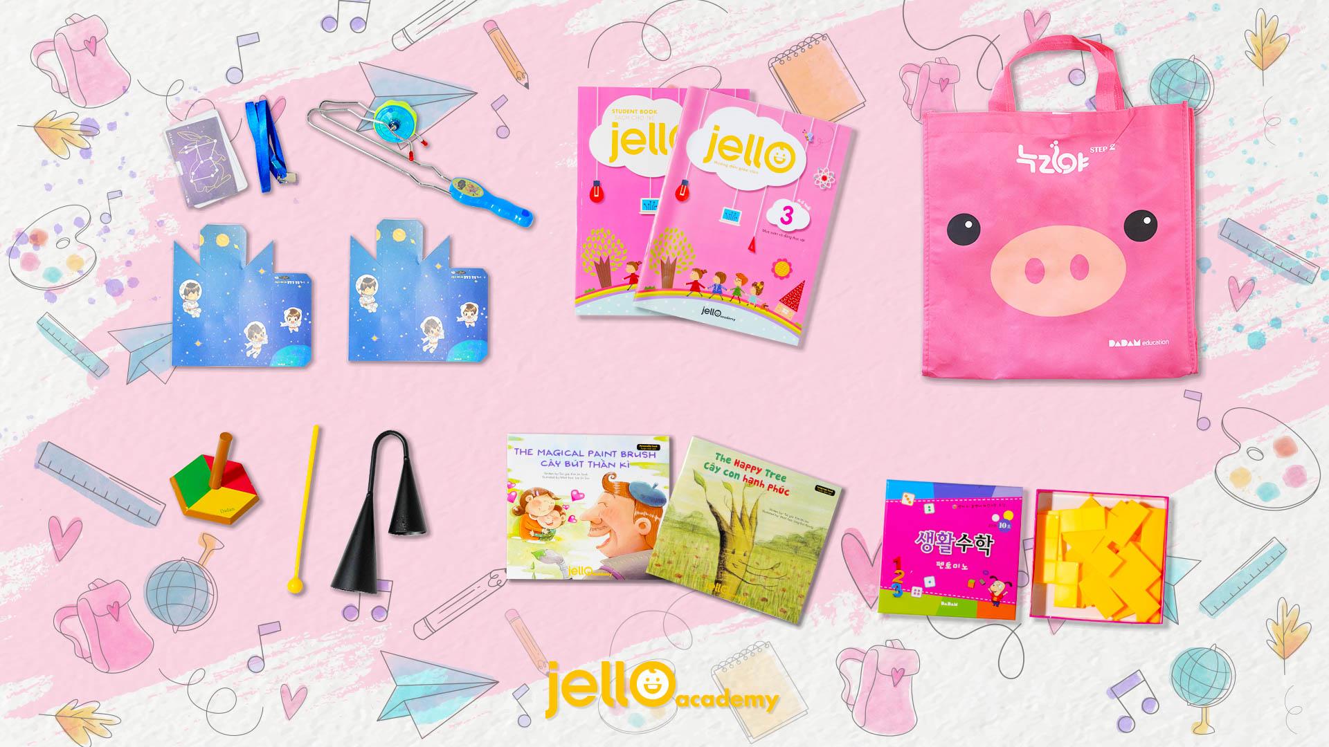 Bộ học cụ Jello - 4 Tuổi - Tháng 03