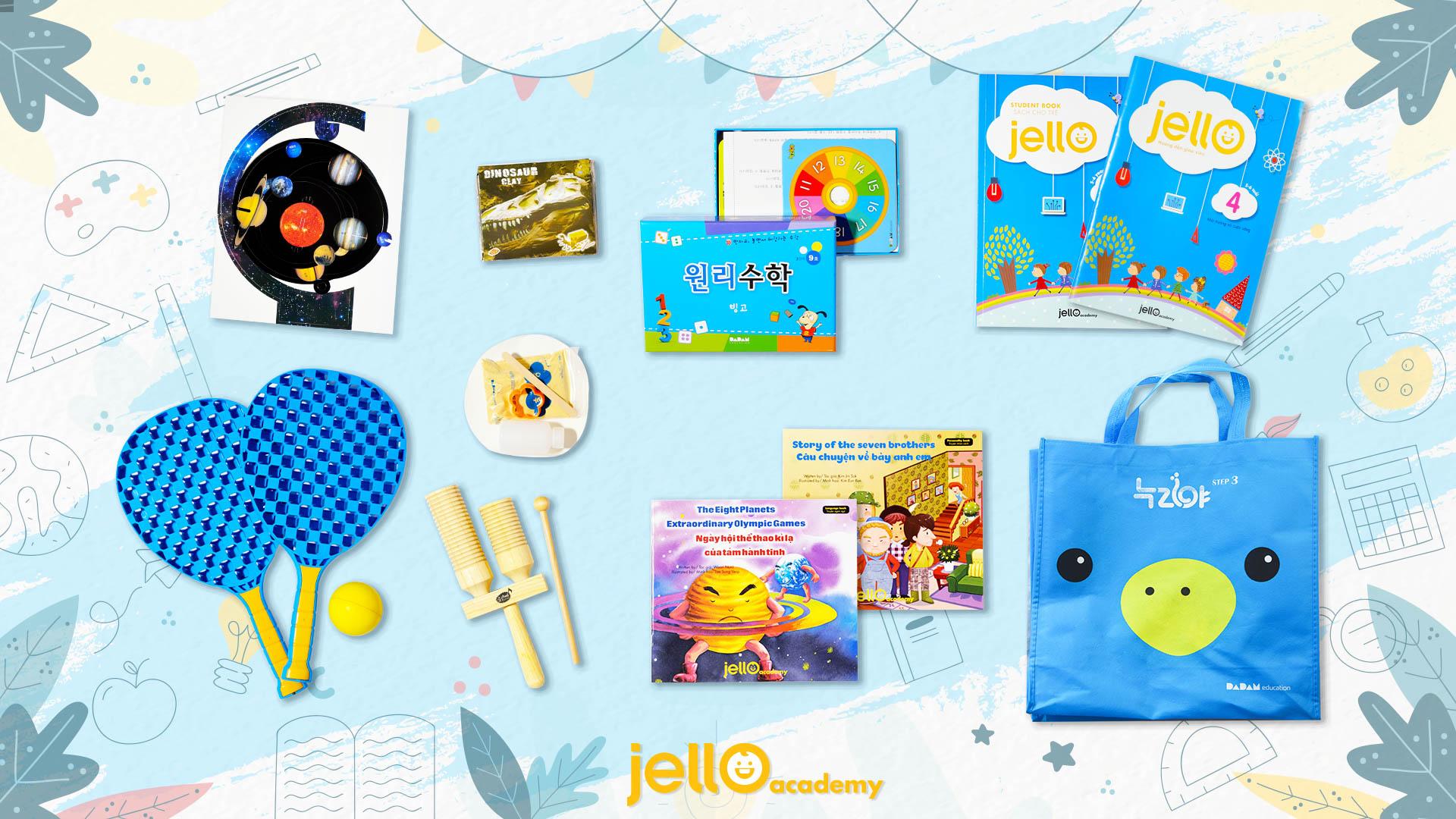 Bộ học cụ Jello - 5 Tuổi - Tháng 04