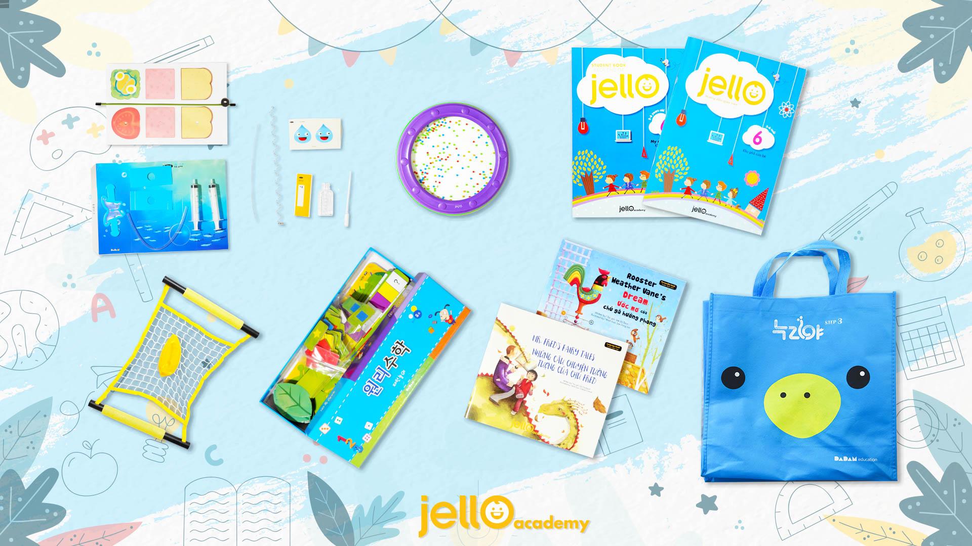 Bộ học cụ Jello - 5 Tuổi - Tháng 06