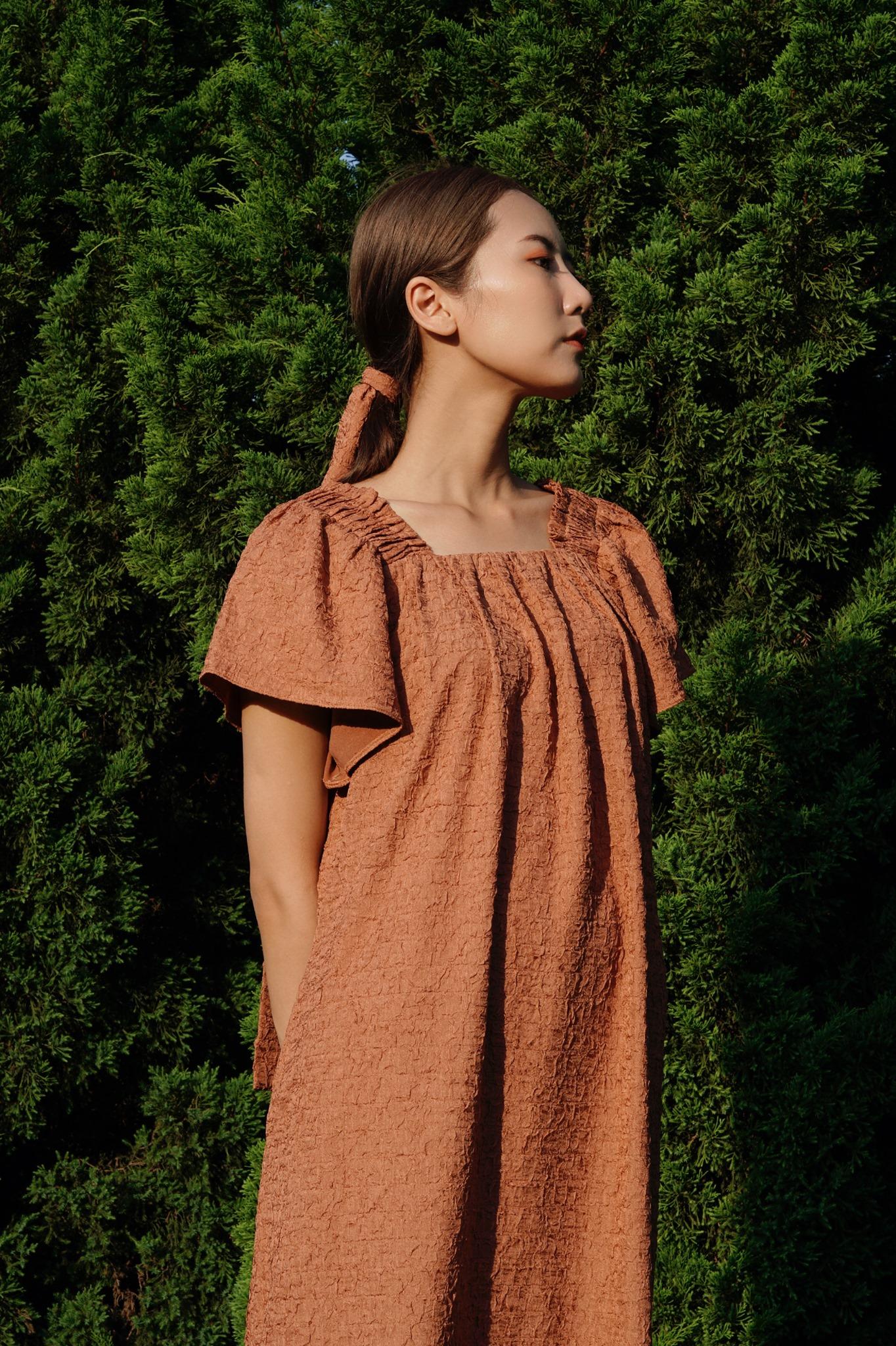 Bella dress - Brown