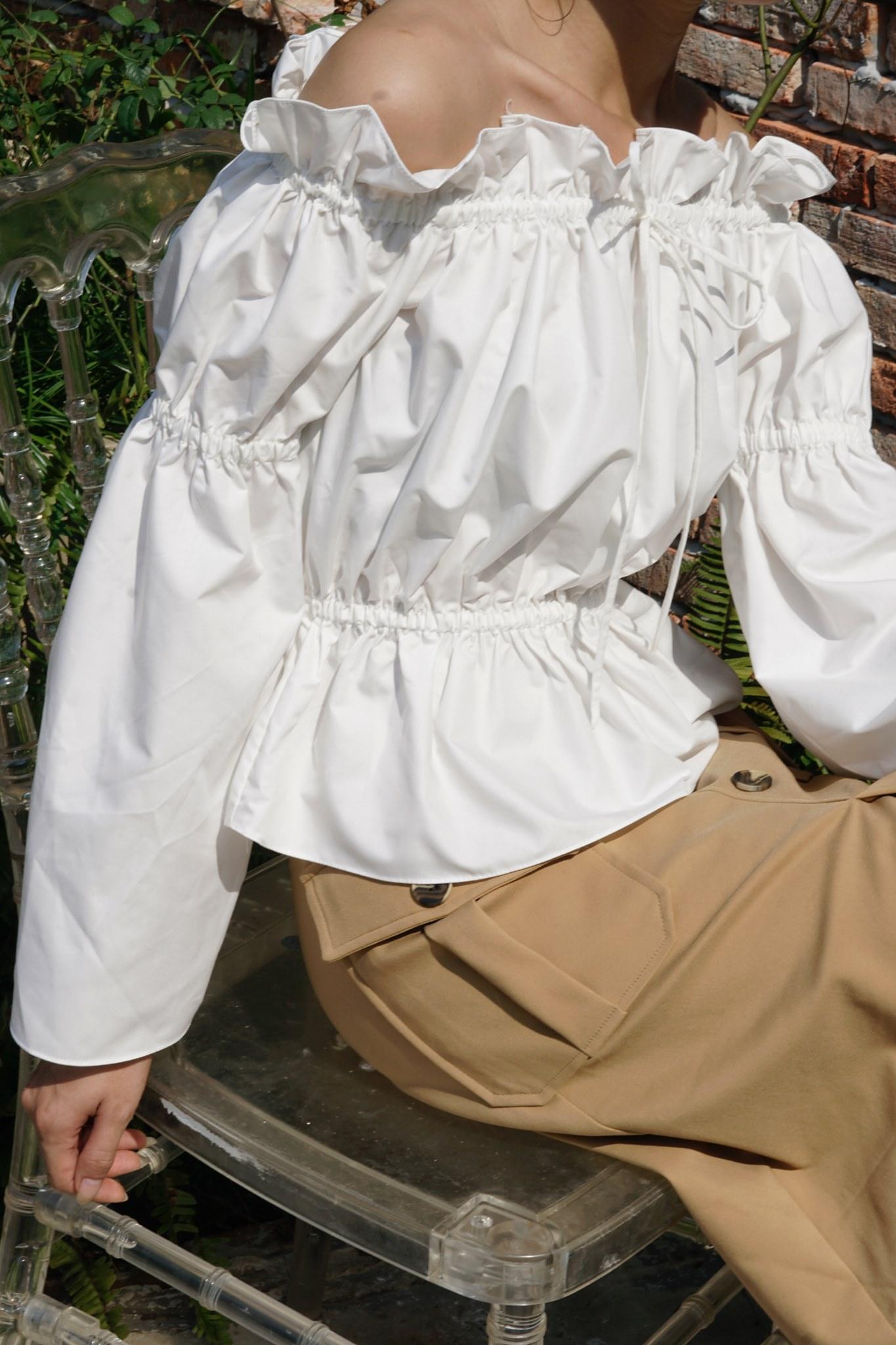 Mimi top - White