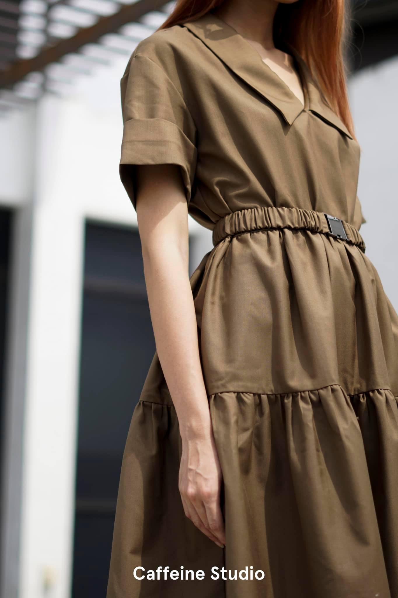 Sani Dress - Brown